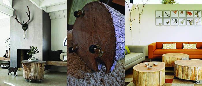 Lumberjack design   Houthakkers   Boomstronk   Meubels   Doe het zelf   Wonen voor Mannen