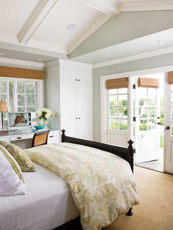 light + bright master bedroom