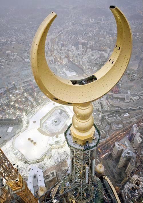 La Mecque vue de très haut. #Omra #Hajj #Arabiesaoudite