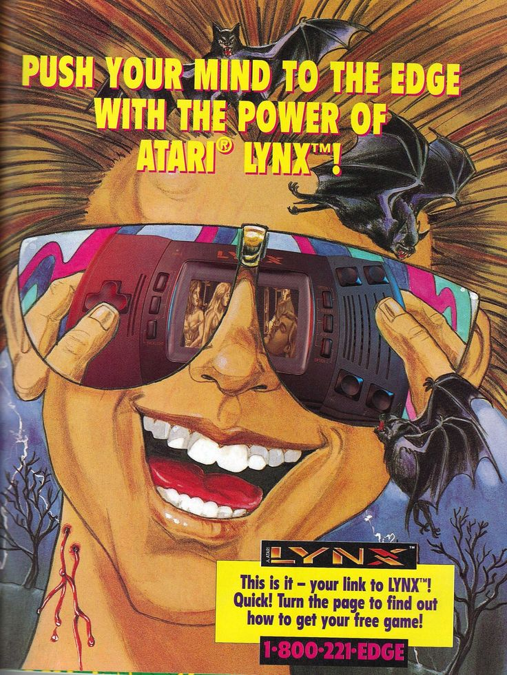 Push Your Mind To The Edge With The Power Of Atari Lynx!