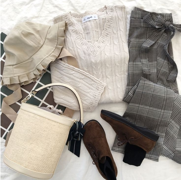 Get Fall Vibe Ready  #66girls_en #FWcollection #koreanstyle #worldwideshipping #kfashion #knitwear