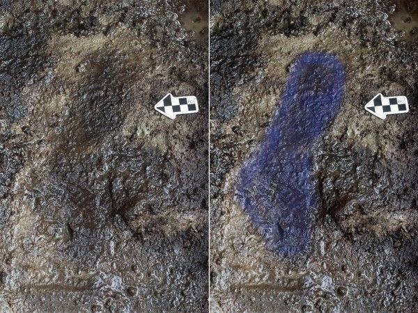Обнаружены отпечатки человеческих стоп возрастом 13 тысяч лет