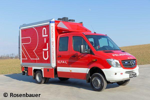 Weltpremiere: TSF-Logistik von Rosenbauer  |   Feuerwehr-Magazin