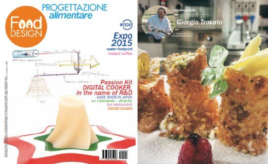 Chef Innovation: l'Executive Chef Giorgio Trovato su Food Design.  #food #design #chef #ChefGiorgioTrovato #Ufficiostampa #PressOffice #PR #MediaPR