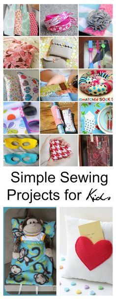 Sewing Ideas| Simple Sewing Projects for Kids- Are your kids wanting to learn how to sew? Sewing is a very useful  skill that can be used throughout your life.