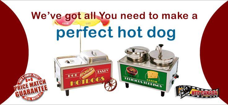 Hot Dog Machines & Supplies - HTD Canada Popcorn Company