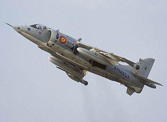 "AV-8A ""MATADOR"" HARRIER ARMADA ESPAÑOLA"
