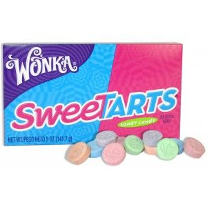 WONKA SWEETARTS THEATRE BOX