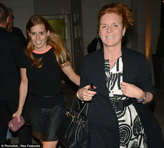 Princess Beatrice Leather Skirt: Beatrice And Eugenie Take Mum Out Clubbing As They Head To