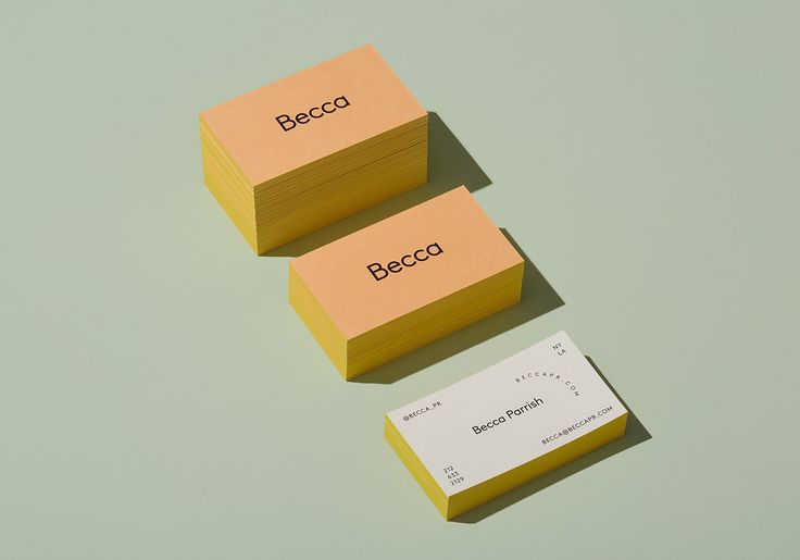 Becca Corporate Design by @LMNOP Creative