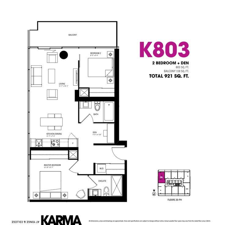 Nice Cheap 1 Bedroom Apartments: Best 25+ Condo Floor Plans Ideas On Pinterest