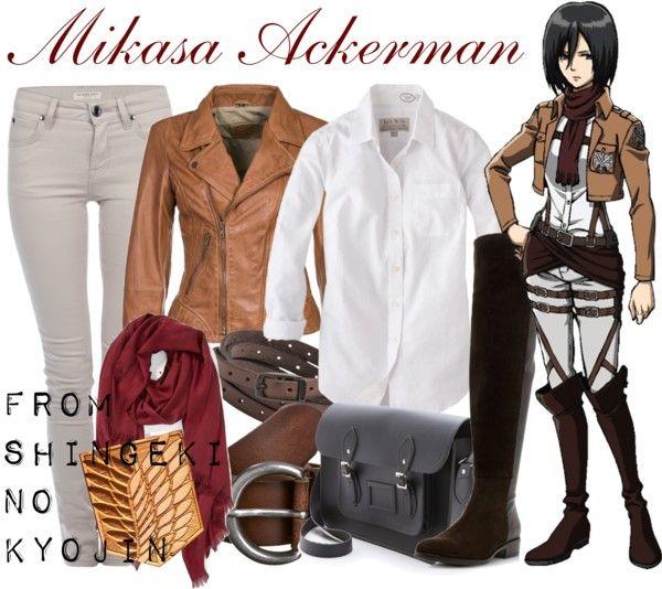 [Shingeki no Kyojin] Mikasa Ackerman View all Shingeki no Kyojin-inspired outfits here.