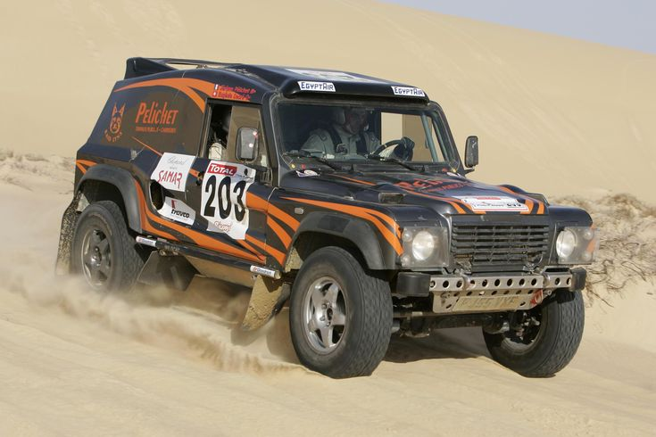 Bowler Wildcat...every offroad enthusiasts dream.