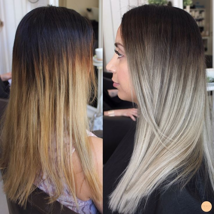 1279 best images about ombr balayage rooty looks color melts on pinterest ombre hair color. Black Bedroom Furniture Sets. Home Design Ideas