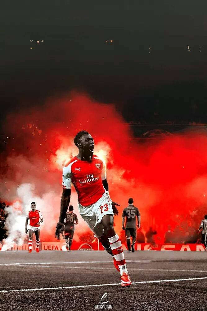 Arsenal's Danny Welbeck - Man on fire