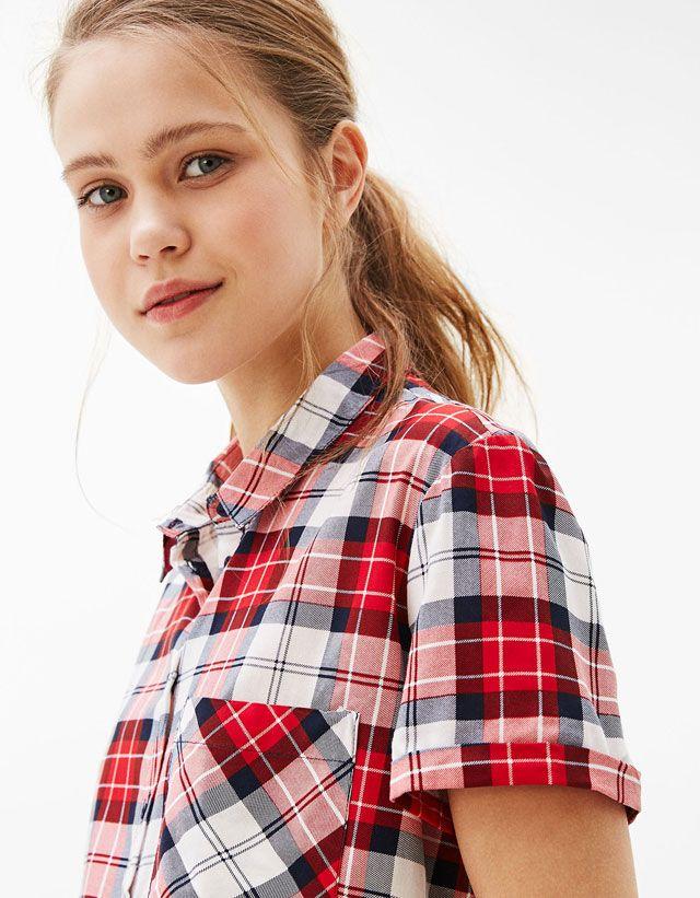 Women's Shirts & Blouses for Spring Summer 2017 | Bershka