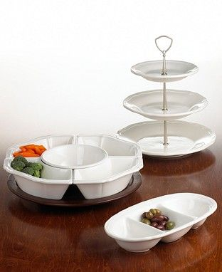 Mikasa Antique White Serveware - Serveware - Dining & Entertaining - Macy's