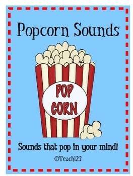 Letter Sounds Popcorn - homework program  $