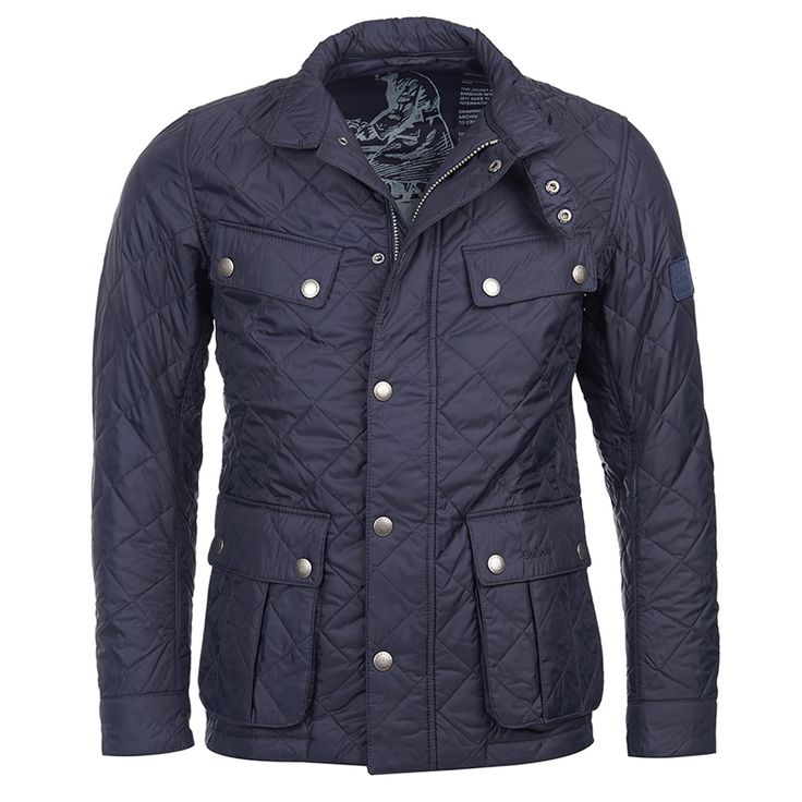 Barbour Ariel Quilted Jacket - Navy - Barbour - Shop By Brand