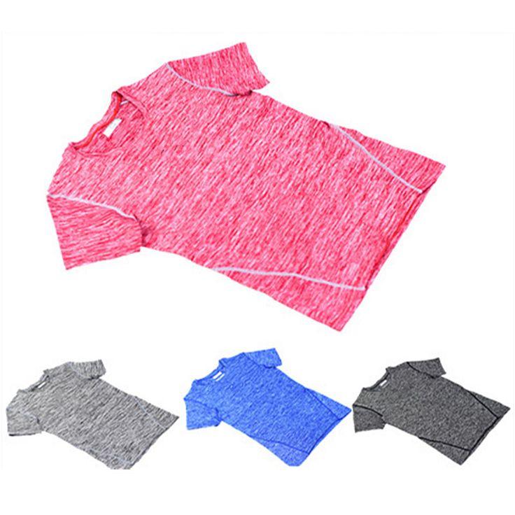 New Design Men Fitness BodyBuilding Running Sports Pro Shirt Breathable Quick Dry Flexible Sport Leisure Gym Shirt Sportwear
