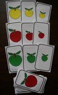 La pomme :Jeu de tri et de classement