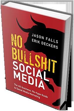 No Bullshit Social Media book