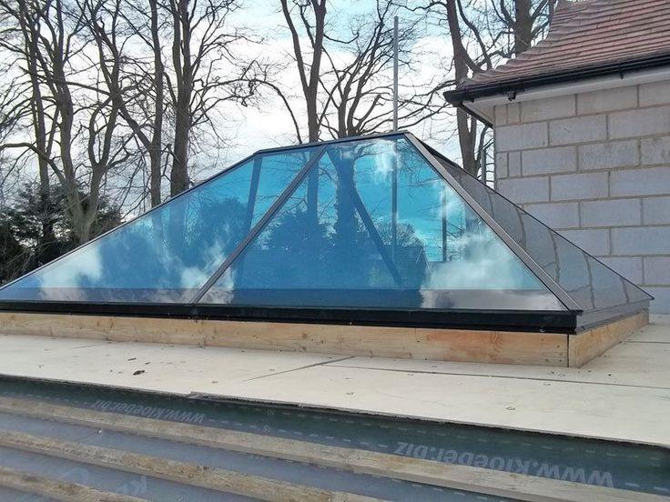 Roof Lantern Glass Skylight For Flat Roof Orangery Roof