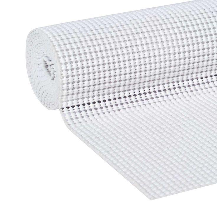 Free 2 Day Shipping Buy Easyliner Select Grip Shelf Liner White 20 In X 6 Ft At Walmart Com Shelf Liner Liner Drawer Liner