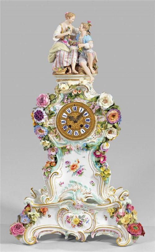 фарфоровые часы – 09