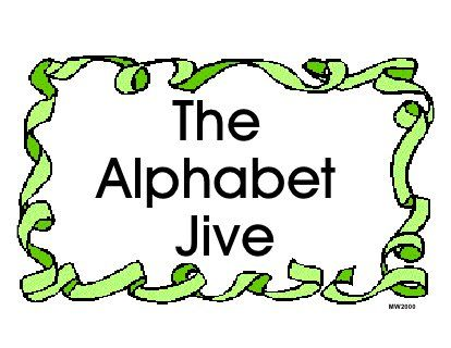 Alphabet Jive