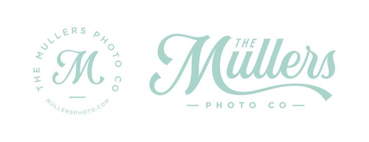 The Mullers Photo Co | Branding — Nicolas Fredrickson Omaha, NE Lettering