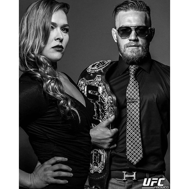KING & QUEEN : Ronda Rousey & Conor McGregor : if you love #MMA, you'll love the #UFC & #MixedMartialArts inspired fashion at CageCult: http://cagecult.com/mma