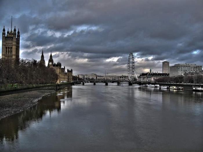 Rio Tâmisa, Londres, Reino Unido