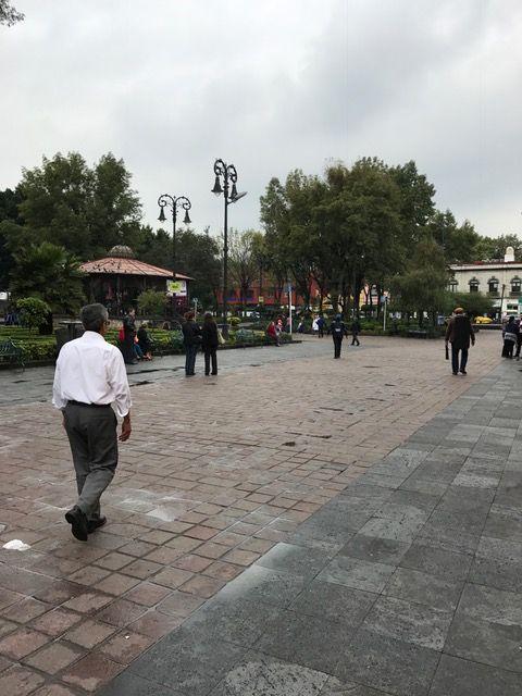 El contexto en el que me desenvuelvo está ubicado en el Centro Histórico de la delegación Coyoacán