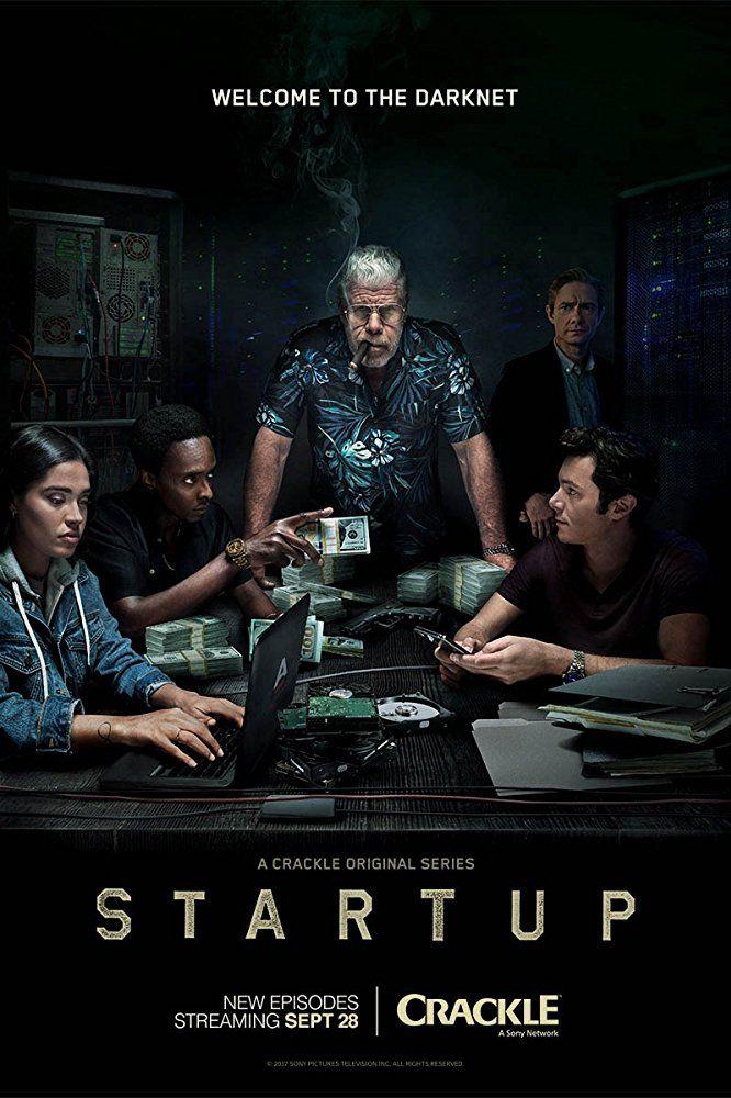 Ron Perlman, Adam Brody, Martin Freeman, Edi Gathegi, and Otmara Marrero in StartUp