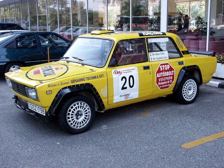 Lada 2105 Rally Car