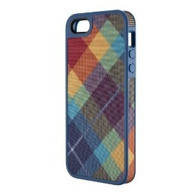Speck Products FabShell Fabric-Covered Case for iPhone 5 - Retail Packaging - MegaPlaid Spectrum $19.90 while supplies last!