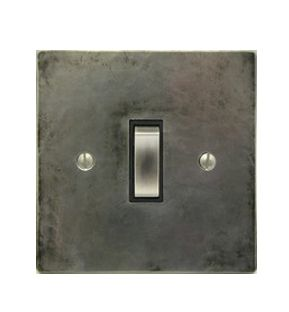 Antique pewter rocker switches, Antique pewter sockets & switches - Holloways of Ludlow