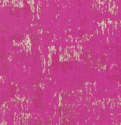 розово-фиолетовые обои с фактурой штукатурки Designers Guild