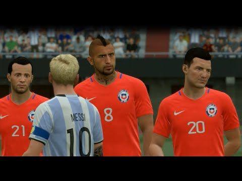 FIFA 17 Argentina vs Chile EL MONUMENTAL HD GAMEPLAY