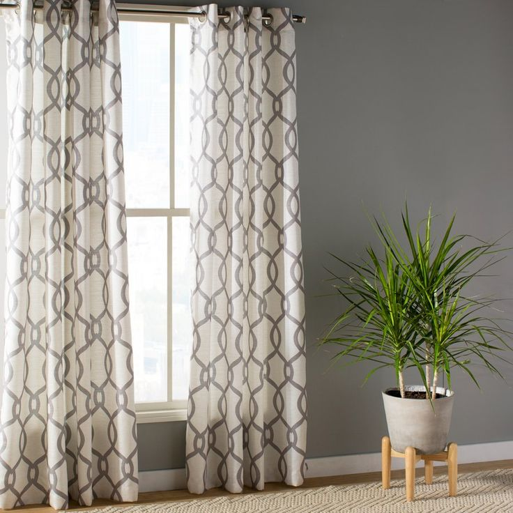 Plant City Curtain Panels Set Of 2 New Home Curtains