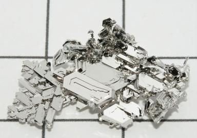 Platinum is an example of a noble metal. - Periodictableru, Creative Commons License