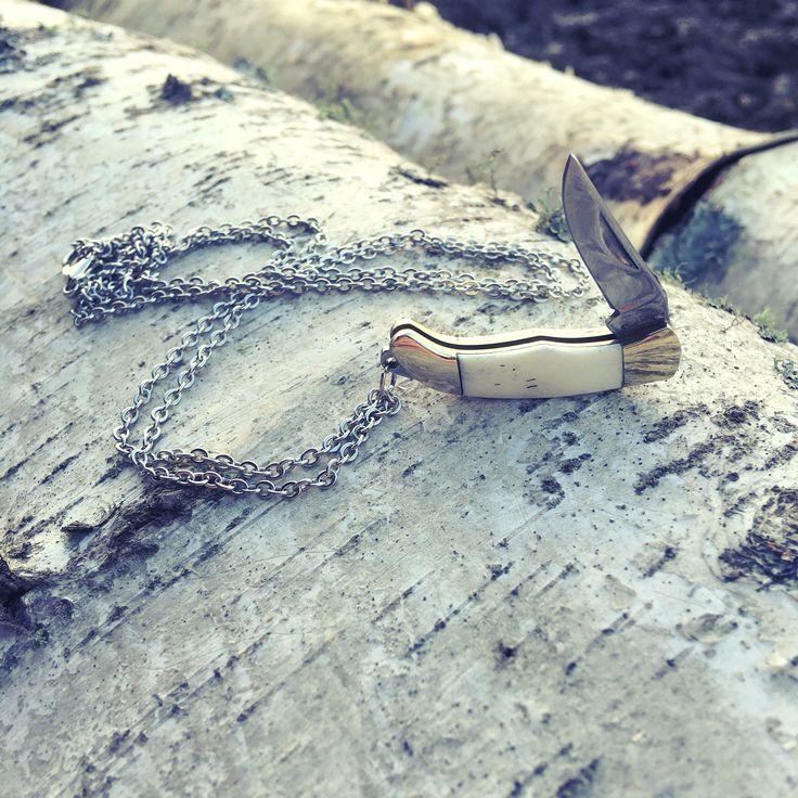 Jack Knife Necklaces