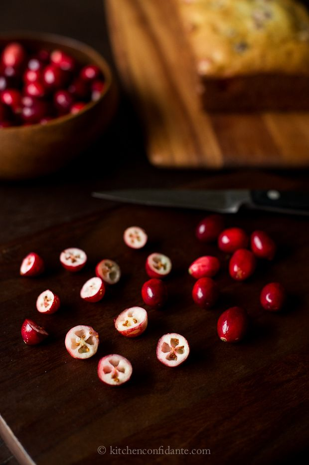Fresh Cranberry Tea Cake-Kitchen Confidante-Cranberries