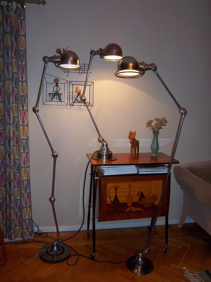 Jieldé lampor