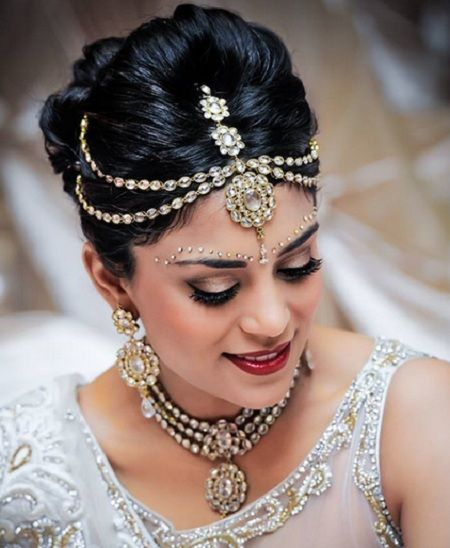 Indian bridal hairstyle for wedding 10