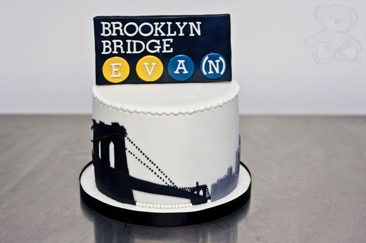 Brooklyn Bridge Cake In 2019 Cake Wedding Cakes Cake
