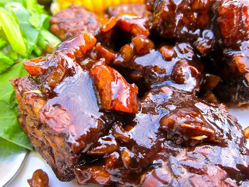 The Best Tempeh There Ever Was: Balsamic Maple Glazed - Making Love in the Kitchen