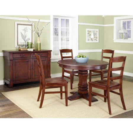 Home Styles Aspen Kitchen Furniture Collection Rustic Cherry Finish, Brown