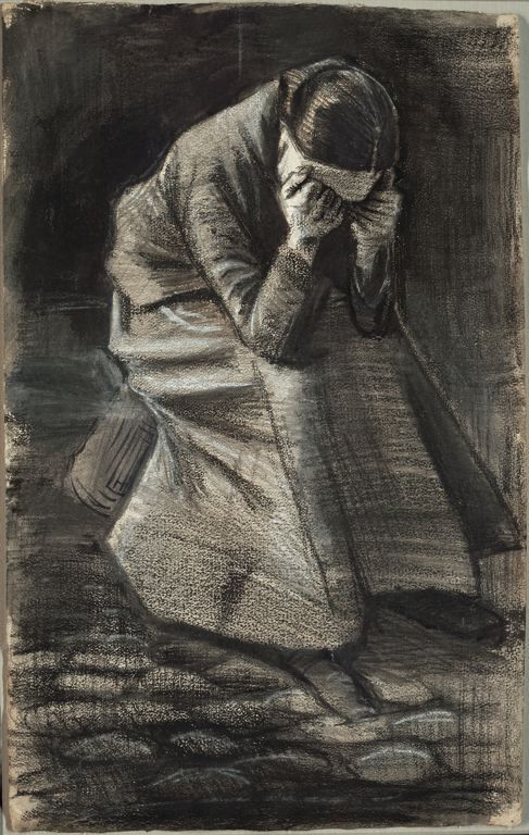 Vincent van Gogh - Weeping Woman (F1069) - At Eternity's Gate - Wikipedia, the free encyclopedia